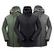 Lain-lain Uniseks / Lelaki Luar Tops / Jaket LembutKalis Air / Telus Udara / Dengan Penebat / Kering Cepat / Kalis Hujan / Boleh Dipakai