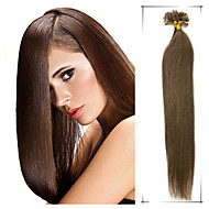 Grade 5A 1pc/Lot 18Inch/45cm multicolors straight Fusion /U Tip Hair Extension Human Hair weaves  0.5g/s