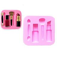 bakeware silicone moldes caneta maquiagem cozimento para o bolo fondant chocolate (cores aleatórias)