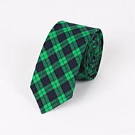 Gravatas ( Azul/Verde/Vermelho , Algodão ) Grade