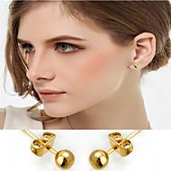 WesternRain Women Stud Earrings Women's Gold / Brass Earring Non Stone