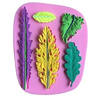 Leaves Leaf Shaped Fondant Cake Chocolate Silicone Molds,Decoration Tools Bakeware