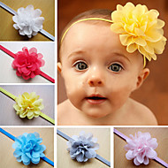 Childern Baby Hairband Girls Lace Hair Accessories Baby Girl Chiffon Flower Headband Infant Hair Weave Band