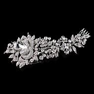 נשים / נערת פרחים ריינסטון כיסוי ראש-חתונה / אירוע מיוחד מסרקי שיער חלק 1