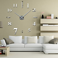 Modern / Contemporary Inne Zegar ścienny,Zaokrąglanie Inne 42.5*15.5*9.5 Domowy Zegar