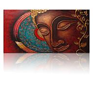 visuaalinen star®modern buddha abstrakti tulostuksen kankaalle valmis roikkumaan