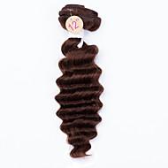 Cabelo Humano Ondulado Cabelo Brasileiro Onda Profunda 12 meses tece cabelo