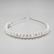 Women's/Flower Girl's Rhinestone/Crystal/Alloy Headpiece - Wedding/Special Occasion Headbands 1 Piece