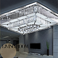 32W Modern Flush Mount Lights Glas Takmonterad Living Room / Bedroom / Dining Room / Sovrum