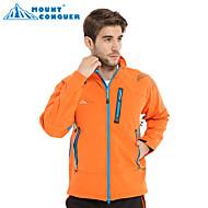 gunung conquer® jaket softshell jaket luar jaket windproof mendaki coldproof perkhemahan haba