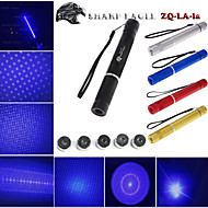 Flashlight Shaped - Blue Laser Pointer - Aluminum Alloy