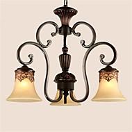 Luzes Pingente - Metal - LED/Lâmpada Incluída -Sala de Estar/Quarto/Sala de Jantar/Cozinha/Quarto de Estudo/Escritório/Quarto das
