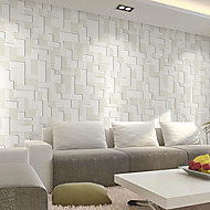 New Rainbow™ Contemporary Wallpaper Art Deco Rice Grey Wall Covering Non-woven Paper Wall Art