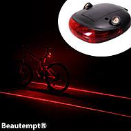 פנסי אופניים / פנס אחורי לאופניים LED / Laser רכיבת אופניים עמיד למים / עמיד לחבטות AAA Lumens סוללה רכיבה על אופניים-תאורה