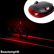 Luzes de Bicicleta / Luz Traseira Para Bicicleta LED / Laser Ciclismo Prova-de-Água / Resistente ao Impacto AAA Lumens Bateria Ciclismo-