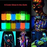 Halloween Glow In The Dark Neon Face & Body Paint -25ml 1 Piece Fluorescent