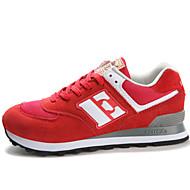 הליכה נשים נעליים סוויד / קנבס כחול / סגול / אדום