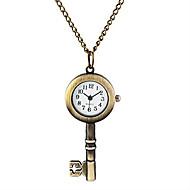男性 女性用 ユニセックス 懐中時計 ネックレスウォッチ クォーツ 合金 バンド ビンテージ