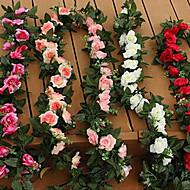 플라스틱 장미 인공 꽃