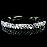 Women's / Flower Girl's Alloy Headpiece-Wedding / Special Occasion Headbands 1 Piece