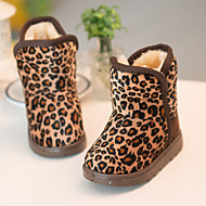 Childrens' Shoes Casual Snow Boots / Comfort Faux Suede Boots Brown / Khaki