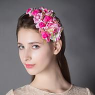 Women's Alloy / Net / Plastic Headpiece - Wedding Flowers 1 Piece