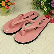נעלי נשים - כפכפים - PVC - כפכפים - שחור / ורוד / לבן - שטח - עקב שטוח