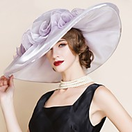 Women's Organza Headpiece - Wedding / Special Occasion Hats 1 Piece