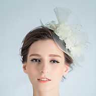 Women's Tulle Headpiece - Wedding / Special Occasion Fascinators 1 Piece