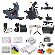 starter tattoo kit 2 tattoo machine voeding naalden
