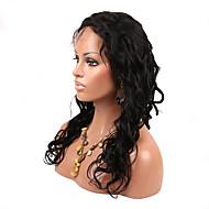 Doubleleafwig Lose Wave Unprocessed Virgin Brazilian Hair Full Lace Wig