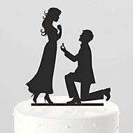 Figurine - Akryyli - Häät/Vuosipäivä/Bridal Shower-kutsut Klassinen pari