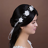 Women's Crystal/Imitation Pearl/Chiffon Headpiece - Wedding/Special Occasion Headbands 1 Piece