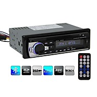 Bluetooth Car Stereo Audio In-Dash Single-Din FM Receiver Aux Input Receiver SD USB MP3 Radio Player 12V