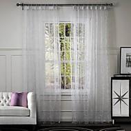 Due pannelli Trattamento finestra Originale , Vite Salotto Miscela polyester / cotone Materiale tende tende Decorazioni per la casa For