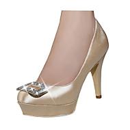 Chaussures de mariage - Rouge / Champagne - Mariage / Habillé / Soirée & Evénement - Talons / A Plateau / Bout Fermé - Talons - Homme