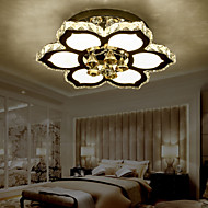 클래식 / 전통 - 플러쉬 마운트 - 크리스탈 / LED - 침실 / 주방 / 키즈 룸