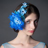 Women's Feather / Net Headpiece - Wedding Fascinators / Flowers 1 Piece