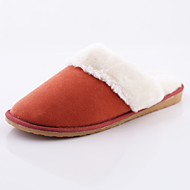 ROAD SWIFT®Women's Casual Shoes, Fleece/Bamboo Fiber, Flat Heel Slippers / Round Toe / Closed Toe Slippers Shoes