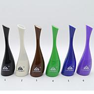 Others 6 Lápis de Olho Liquido Molhado Impermeável Preta / Marrom / Azul / Verde / Roxa / Branco