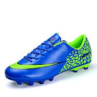 Sapatos Futebol Masculino Preto / Azul / Verde Sintético