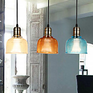 E27  Line 1M 14*18CM Nordic Ikea Personality Small Droplight Of Stained Glass Chandelier Restoring Ancient Ways  LED