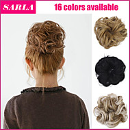 2015 New Fashion Synthetic Elastic Bride Hair Bun Hair Chignon Roller Hepburn's Hairpieces Hair Synthetic Bun