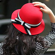 Women Bow Dome Bowler Hat