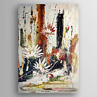 Oil Painting Abstract Flower Painting Hand Painted Canvas with Stretched Framed Ready to Hang