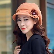 Women Fashion Inlaid Flowers Hats