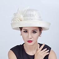 Dame Polyester / Linfrø Headpiece Bryllup / Spesiell Leilighet / Avslappet / Utendørs HatterBryllup / Spesiell Leilighet / Avslappet /