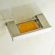 """Soap Dish Stainless Steel Wall Mounted 190 x 90 x 30mm (7.48 x 3.54 x 1.18"""") Stainless Steel Contemporary"""