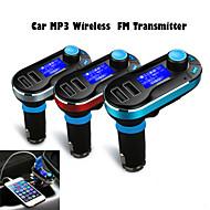 bil mp3 trådløse FM Transmitter til usb sd TF kort 12v ~ 24v