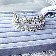 Double Ornate Rhinestone / Alloy hair vine - Wedding / Special Occasion Headbands 1 Piece